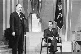Джон Митчелл и Ричард Никсон