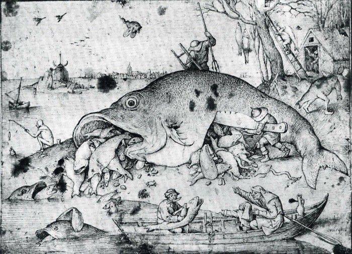 Большая рыба есть маленькую