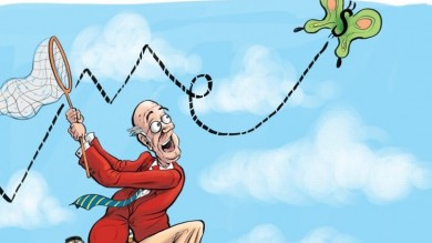 Бычьи оценки на вершинах фондового рынка