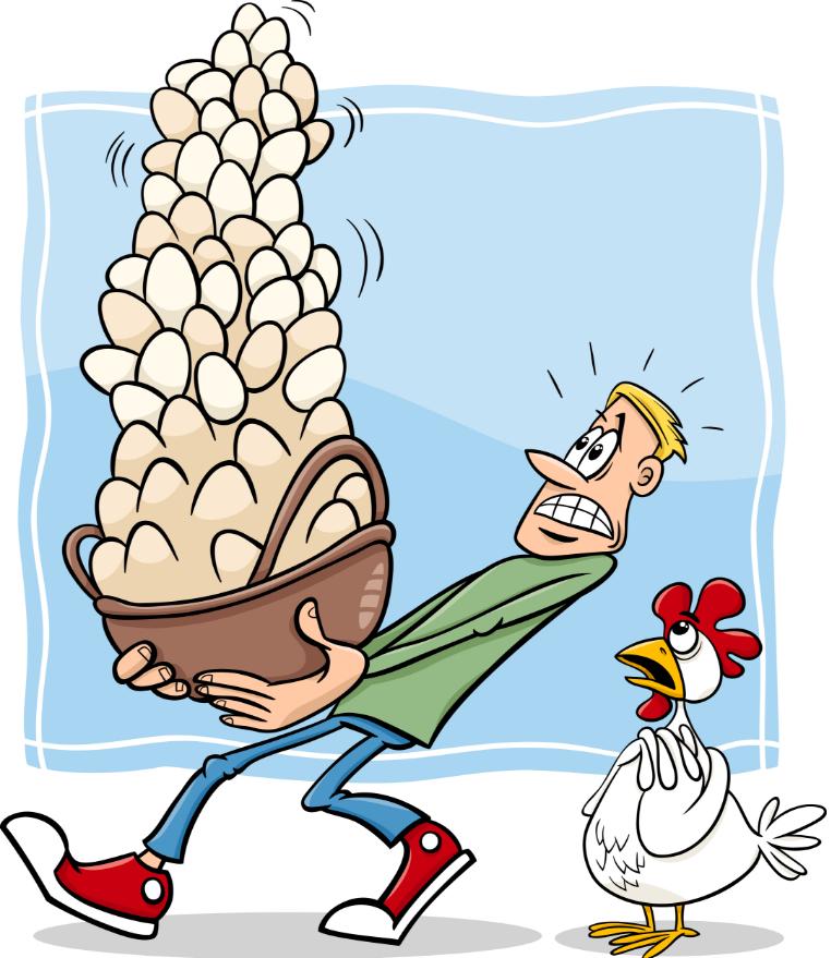 Не клади все яйца в одну корзину - простой принцип диверсификации